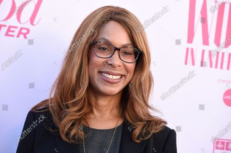 Stock Picture of Channing Dungey at The Hollywood Reporter's Women in Entertainment Breakfast Gala in Los Angeles. Dungey, who at ABC became the first African American to head a major broadcast network and now is Netflix's vice president for original series, says diversity's appeal is proven by the streaming service's globally distributed programs and closely held viewership figures