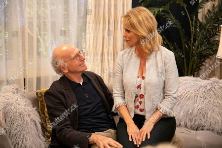 Larry David as Larry David and Cheryl Hines as Cheryl David