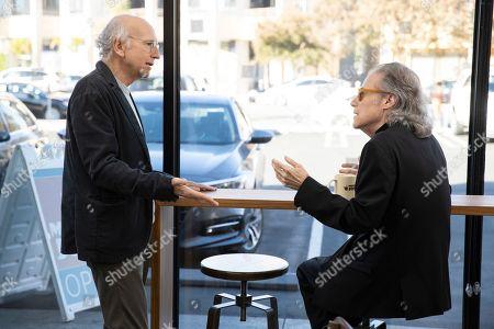 Larry David as Larry David and Richard Lewis as Richard Lewis