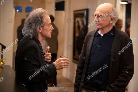 Richard Lewis as Richard Lewis and Larry David as Larry David