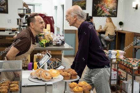 Saverio Guerra as Mocha Joe and Larry David as Larry David