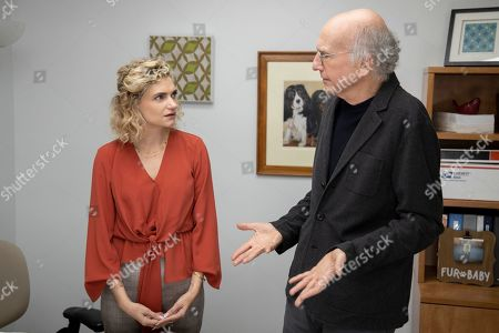 Megan Ferguson as Alice and Larry David as Larry David