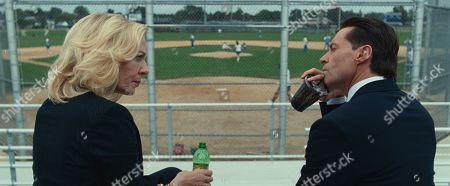 Allison Janney as Pam Gluckin and Hugh Jackman as Frank Tassone