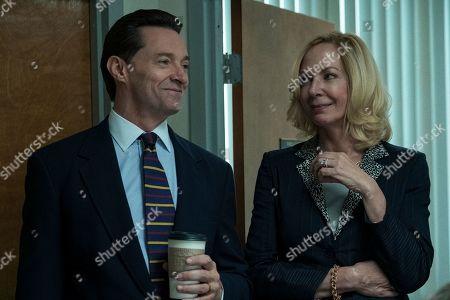 Stock Image of Hugh Jackman as Frank Tassone and Allison Janney as Pam Gluckin