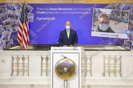 Editorial photo of Stock Exchange Gratitude Campaign, New York, United States - 08 Jun 2020