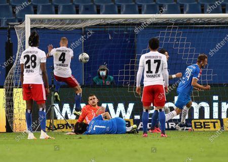 Editorial image of Hamburger SV vs Holstein Kiel, Hamburg, Germany - 08 Jun 2020