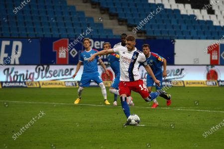 Aaron Hunt Hamburg Scores On Penalty 11 Editorial Stock Photo Stock Image Shutterstock