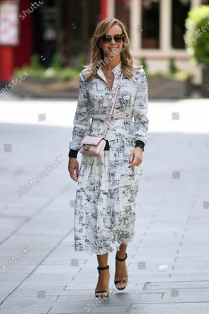 Editorial photo of Amanda Holden out and about, London, UK - 09 Jun 2020