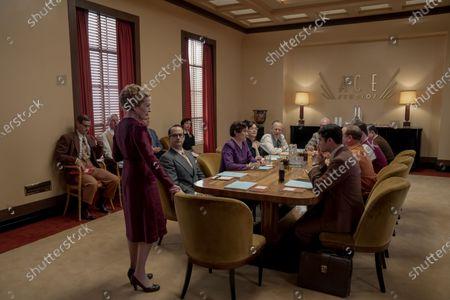 Holland Taylor as Ellen Kincaid and Darren Criss as Raymond Ainsley