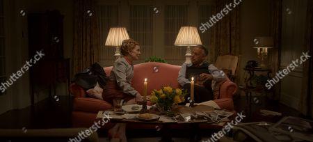 Holland Taylor as Ellen Kincaid and Joe Mantello as Dick Samuels