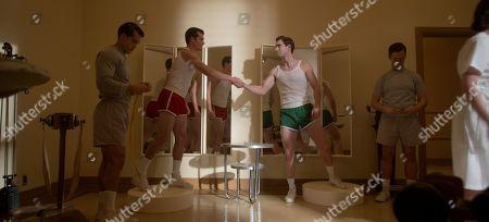 Stock Image of Jake Picking as Rock Hudson and David Corenswet as Jack Castello