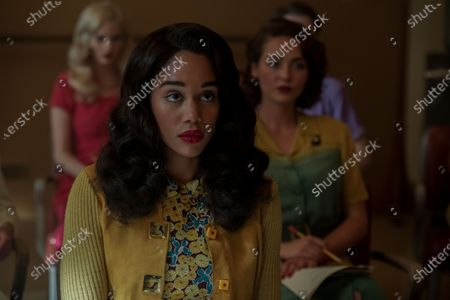 Stock Picture of Samara Weaving as Claire Wood and Laura Harrier as Camille Washington