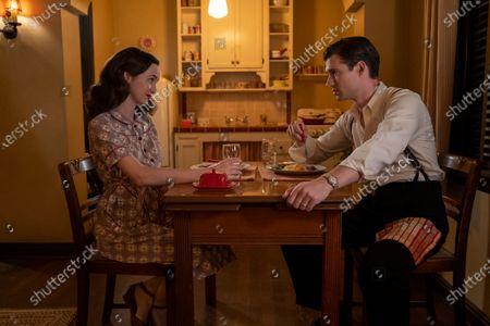 Stock Photo of Maude Apatow as Henrietta Castello and David Corenswet as Jack Castello