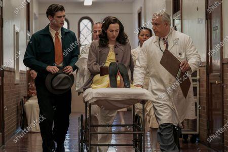 David Corenswet as Jack Castello and Maude Apatow as Henrietta Castello