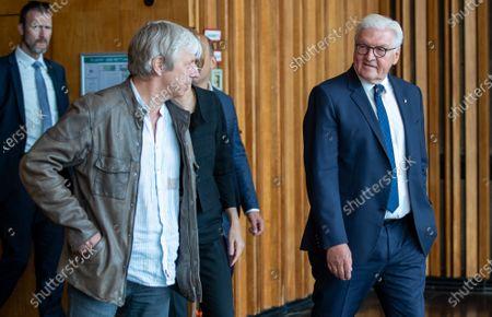 Editorial photo of German President Frank-Walter Steinmeier visits Kino International in Berlin, Germany - 09 Jun 2020