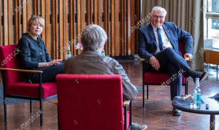 Editorial image of German President Frank-Walter Steinmeier visits Kino International in Berlin, Germany - 09 Jun 2020