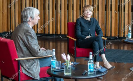 Editorial picture of German President Frank-Walter Steinmeier visits Kino International in Berlin, Germany - 09 Jun 2020