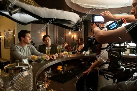 Robbie Amell as Nathan Brown and Kevin Bigley as Luke