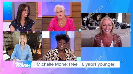 Stock Image of Andrea McLean, Denise Welch, Carol McGiffin, Judi Love, Michelle Mone
