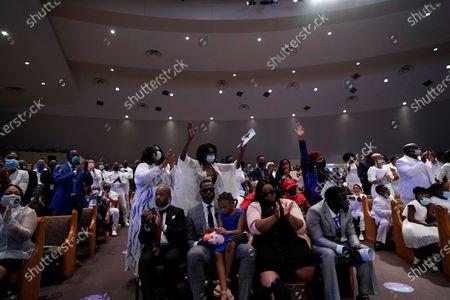 Editorial image of George Floyd Funeral, Houston, United States - 09 Jun 2020