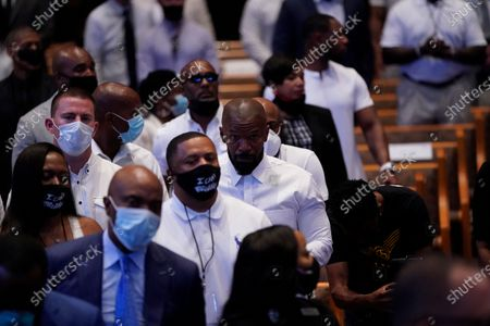 Editorial photo of George Floyd Funeral in Houston, USA - 09 Jun 2020