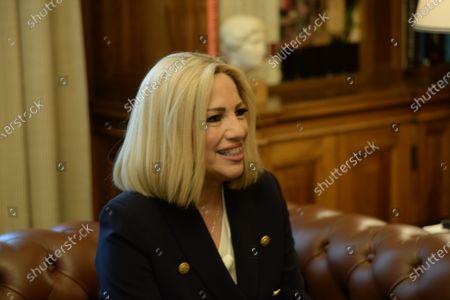 Editorial photo of Greek President met Fofi Gennimata, Athens, Attiki, Greece - 09 Jun 2020
