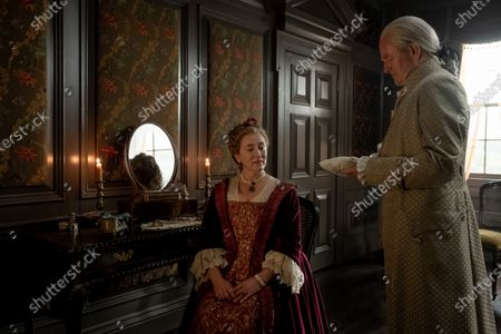 Stock Picture of Maria Doyle Kennedy as Jocasta Cameron and Alistair Findlay as Duncan Innes
