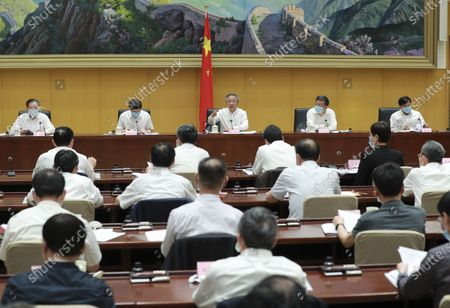 Editorial image of China Beijing Hu Chunhua Meeting - 09 Jun 2020