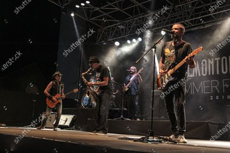Editorial image of Jarabe De Palo at the Valmontone Summer Festival 2, Italy - 04 Aug 2018