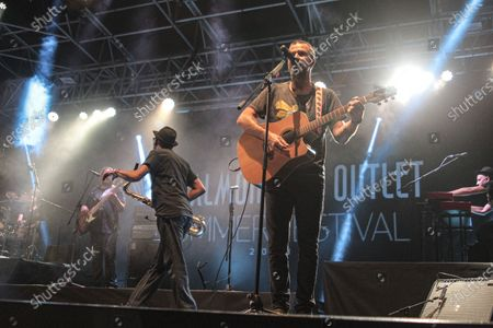 Editorial picture of Jarabe De Palo at the Valmontone Summer Festival 2, Italy - 04 Aug 2018