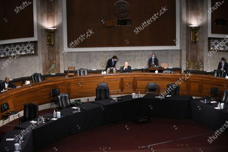 Editorial image of US Senate Senate Banking Committee Holds Hearing On Housing Regulators, Washington, District of Columbia, USA - 09 Jun 2020