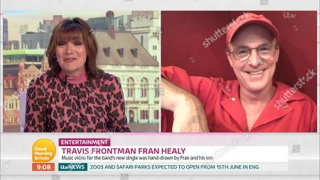 Lorraine Kelly and Fran Healy