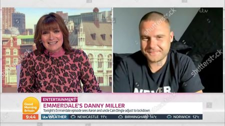 Stock Image of Lorraine Kelly and Danny Miller