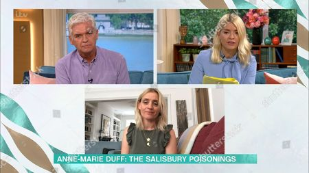Holly Willoughby, Phillip Schofield and Anne-Marie Duff