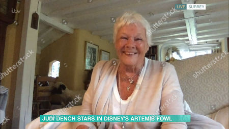 Stock Image of Judi Dench