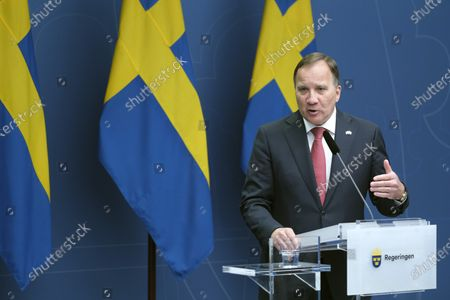 "Sweden's Prime Minister Stefan Lofven comments on Chief Prosecutor Krister Petersson's conclusion that the so-called ""Skandiamannen"", Stig Engstrom, is suspected to be the killer of Swedish Prime Minister Olof Palme in 1986"