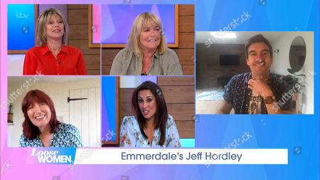Ruth Langsford, Linda Robson, Janet Street-Porter, Saira Khan and Jeff Hordley