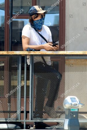 Editorial image of Lukas Haas out and about, Los Angeles, California, USA - 09 Jun 2020