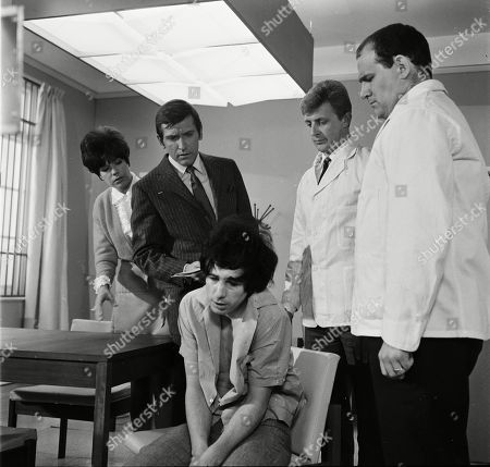 Rosemary Nicols as Annabelle Hurst, Joel Fabiani as Stewart Sullivan, Clive Colin Bowler as Danny Terrill and Tony Caunter as Male Nurse