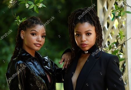Editorial photo of Chloe X Halle Portrait Session, Los Angeles, United States - 28 May 2020