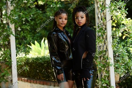 Editorial picture of Chloe X Halle Portrait Session, Los Angeles, United States - 28 May 2020