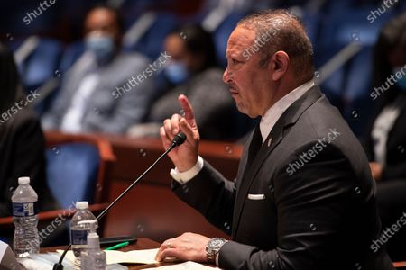 Marc Morial, CEO of the National Urban League, speaks during a hearing of the House Judiciary committee about policing practices and law enforcement accountability prompted by the death of George Floyd while in police custody, on Capitol Hill in Washington, DC, USA, 10 June 2020.