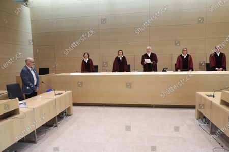 """Editorial picture of The Federal Court of Justice of Germany today has ruled in favour of Volkswagen customers seeking compensation in the """"Dieselgate"""" emissions scandal, Karlsruhe, Germany - 25 May 2020"""