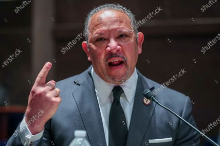President and CEO of the National Urban League Marc Morial speaks during the House Judiciary Committee hearing on ëPolicing Practices and Law Enforcement Accountabilityí at the US Capitol in Washington, DC, USA, 10 June 2020. The hearing comes after the death of George Floyd while in the custody of officers of the Minneapolis Police Department and the introduction of the Justice in Policing Act of 2020 in the US House of Representatives.