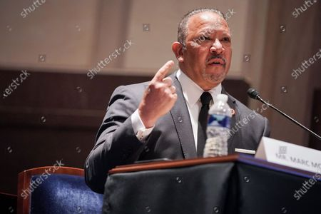 Marc Morial, President and CEO of the National Urban League, gives an opening statement during a House Judiciary Committee hearing to discuss police brutality and racial profiling.