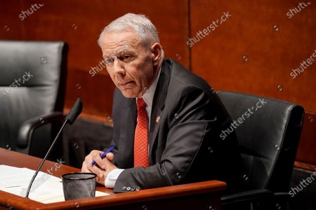 Rep. Ken Buck, R-Colo., asks questions during a House Judiciary Committee hearing on proposed changes to police practices and accountability on Capitol Hill, in Washington