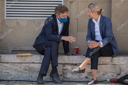 Alice Weidel and Stephan Köthe