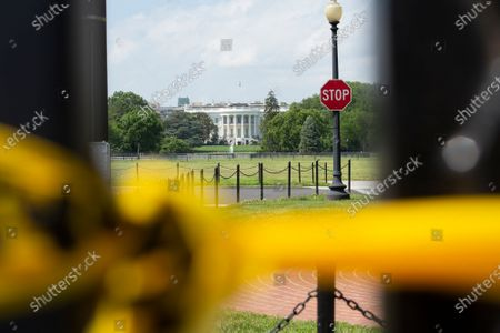 Editorial photo of White House Fencing, Washington, District of Columbia, USA - 10 Jun 2020
