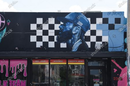 Editorial photo of Black Lives Matter murals, Miami, Florida, USA - 10 Jun 2020
