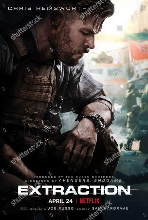 Extraction (2020) Poster Art. Chris Hemsworth as Tyler Rake